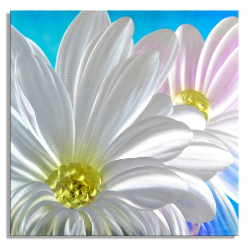 Metal Artscape Fresh as a Daisy Graphic Art Plaque