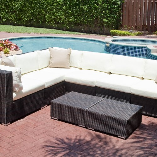 Source Outdoor Manhattan All-Weather Wicker Sectional