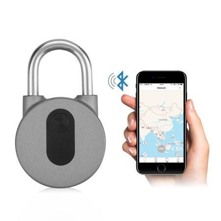 540203bea815 Ashata Keyless Anti-theft Smart Lock Wireless Padlock Mobile Phone  Bluetooth APP, Keyless Lock, Padlock