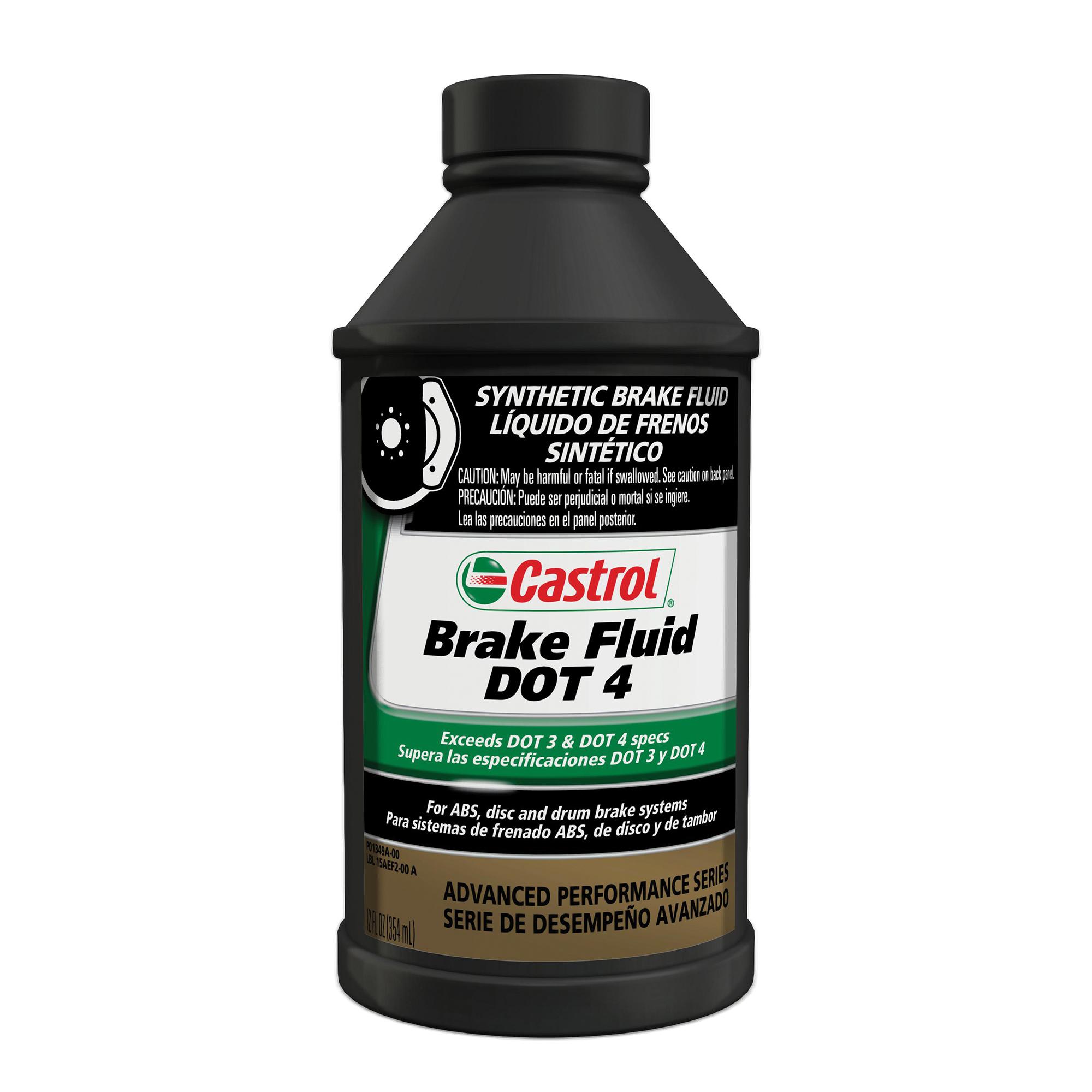 Castrol Brake Fluid DOT 4, 12 OZ