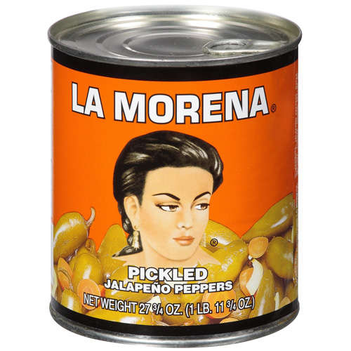 La Morena Pickled Jalapeno Peppers, 27.75 oz