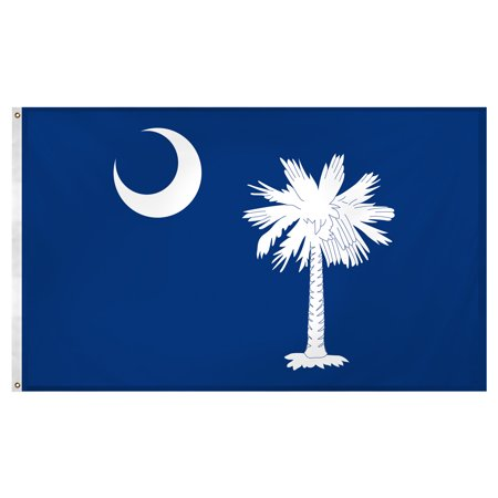 - South Carolina 3ft x 5ft Super Knit Polyester Flag