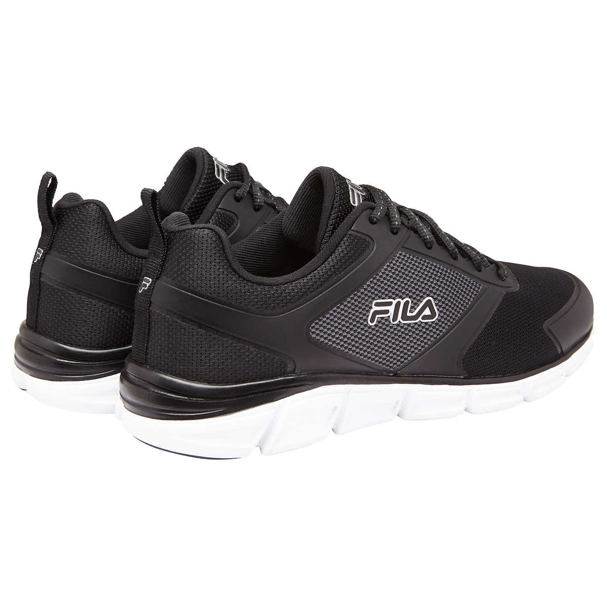 badbe0513 Fila - FILA Men s Memory Foam SteelSprint Athletic Shoes (Black