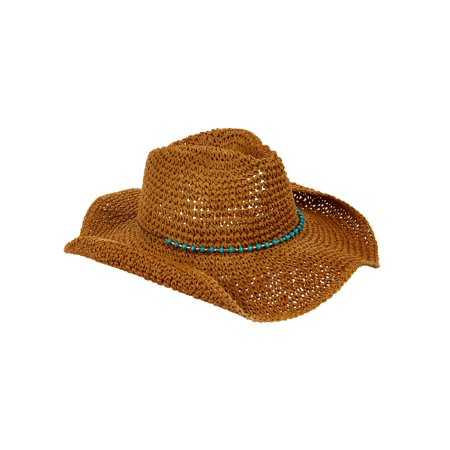 Eliza May Rose Women's Straw Cowboy (Cool Hats For Sale)