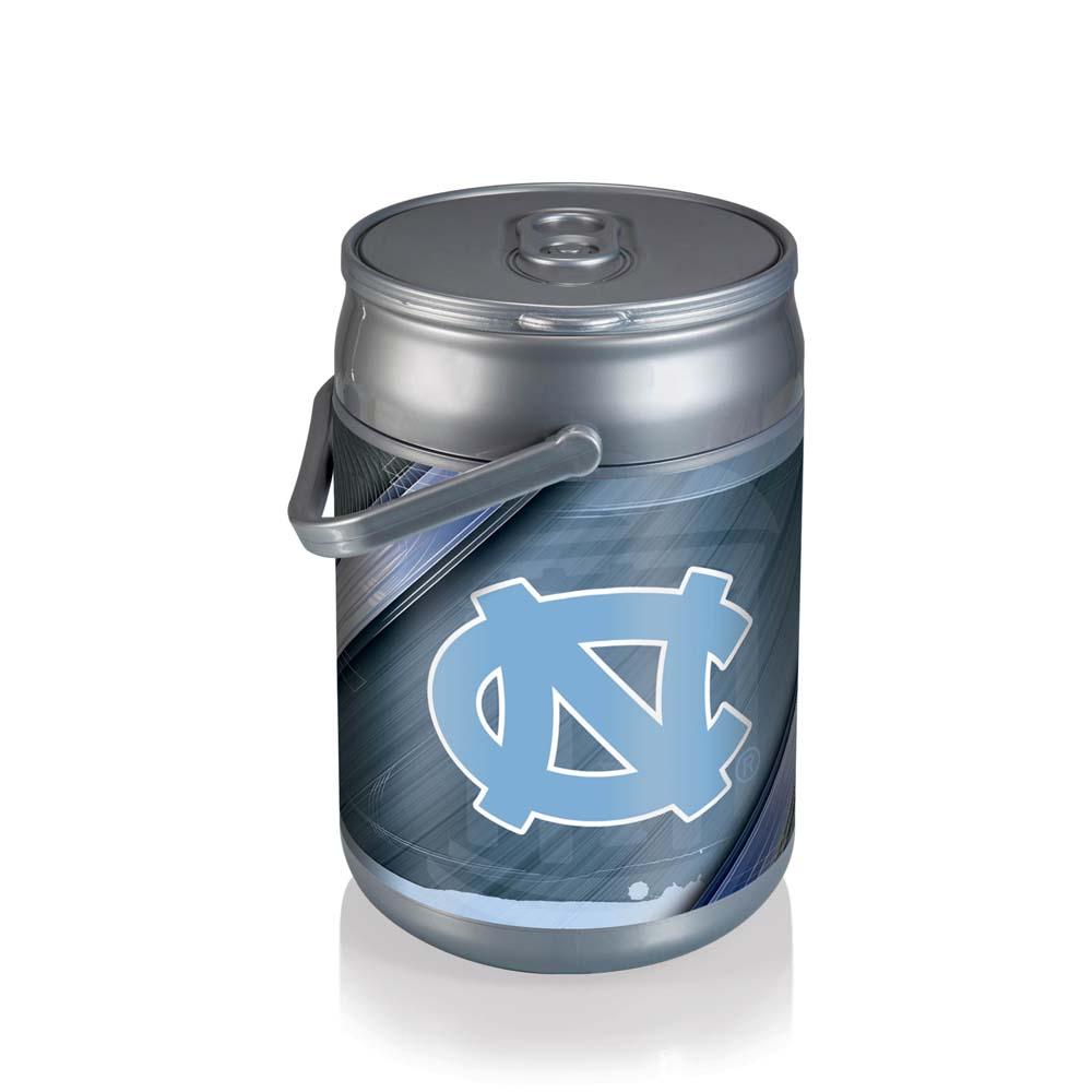 North Carolina Can Cooler (Silver)