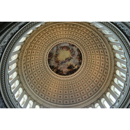 Framed Art For Your Wall Dome Building Decorative Us Capitol Architecture 10x13 Frame