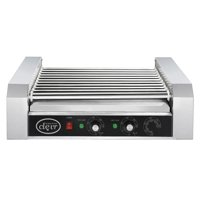 Clevr Commercial 11 Roller and 30 Hotdog Grill Cooker Warmer Hot Dog Machine