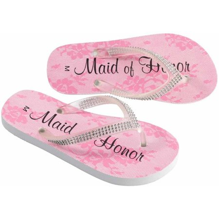 Women's Maid of Honor Flip Flops (Maid Shoes)