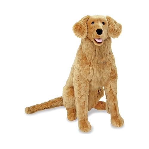 Lifelike Stuffed Animal Dog Melissa  Doug Giant Border Collie over 2 feet
