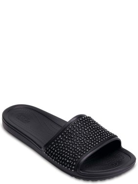 Crocs Women's Sloane Embellished Slide Sandals