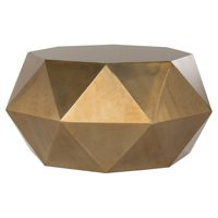 Safavieh Astrid Iron Faceted Coffee Table