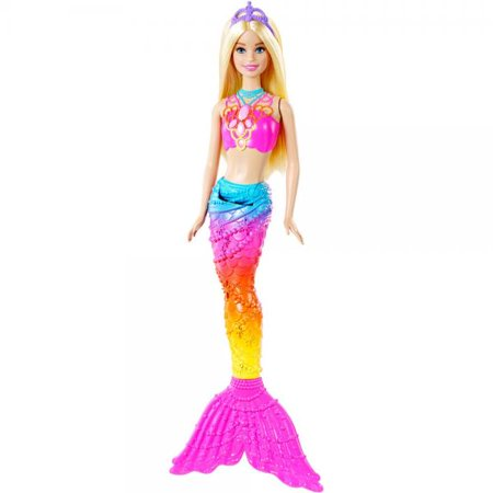 Barbie Rainbow Mermaid Doll Walmart Com