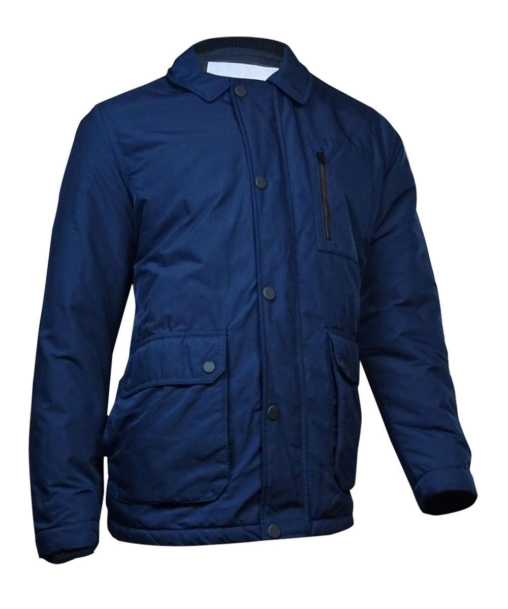 Tommy Hilfiger Men's Wool Blend Coat (L, Mountain Blue) by Tommy Hilfiger