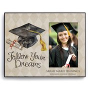 Personalized Follow Your Dreams Graduation Frame