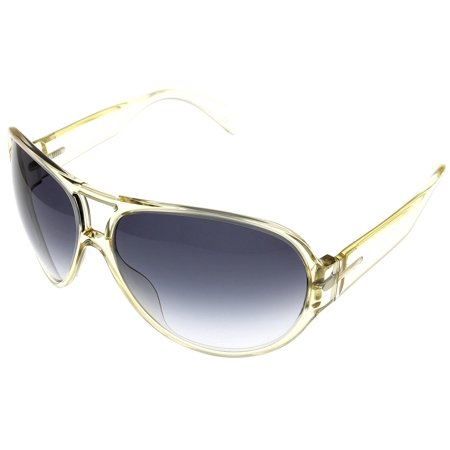 Armani Aviator Sunglasses - Giorgio Armani Sunglasses Womens GA764S CRA Golden Crystal Aviator Size: Lens/ Bridge/ Temple: 00-00-00