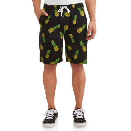 Hollywood Men's Lightweight Twill Printed Shorts