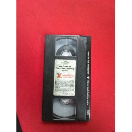 Very Merry Christmas Songs(VHS,1997) Disney's Sing Along Songs-TESTED-VERY RARE ()