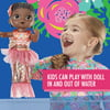 Baby Alive Shimmer N Splash Mermaid Baby Doll, Black Hair, Ages 3+