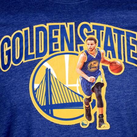 82bb5c2269e4 Golden State Warriors Stephen Curry NBA FX Marshall Applique T-Shirt -  Levelwear - image ...