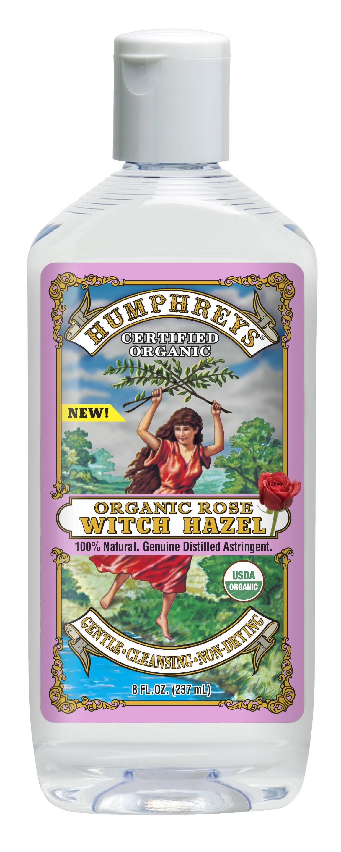 Humphreys Organic Rose Witch Hazel 8 Oz Walmart Com Walmart Com
