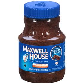 Maxwell House Original Roast Ground Instant Coffee Caffeinated 4 Oz Jar
