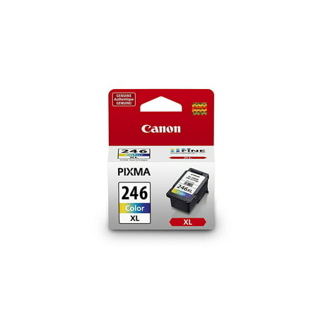 Canon Tri Color Ink (Canon 8280B001 (CL-246XL) ChromaLife100+ High-Yield Ink, Tri-Color)