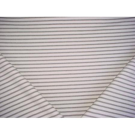 Diversitex Timex in Espresso - Versatile Cotton Ticking Mattress Stripe Designer Upholstery Drapery Fabric - By the Yard