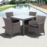 Grand New Liberty Square 5-Piece Patio Dining Set w/Cushions
