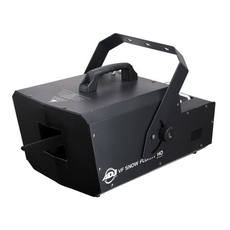 High Output Snow (American DJ VF Snow Flurry HO 1250W High Output DMX Snow Machine Remote Closeout - Factory Certified Refurbished)