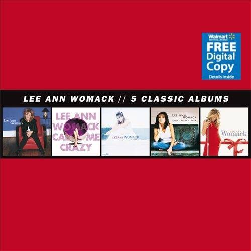 Lee Ann Womack: 5 Classic Albums (5 Disc Box Set) (Walmart Exclusive) (Free Digital Copy)