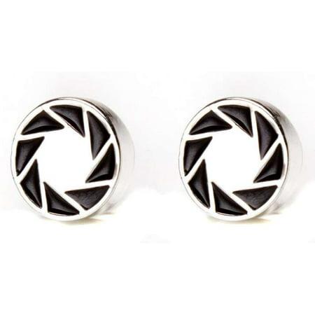 Portal 2 Aperture 80's Logo Earrings](80's Jewelry)