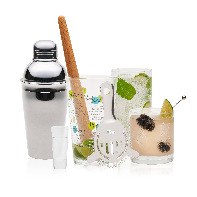 Libbey 15-piece Mixologist Cocktail Set