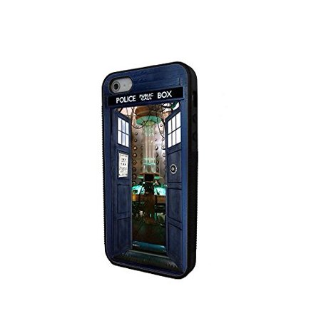 Ganma Doctor Who Tardis Police call box Rubber Case For iPhone 7 Plus (5.5inch