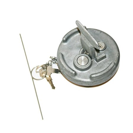 Locking Diesel Metal Fuel Cap Lock for All Peterbilt Semi Truck Models