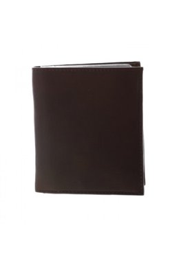 Paul & Taylor Men's Leather Big 20 card slots Hipster Wallet, Brown