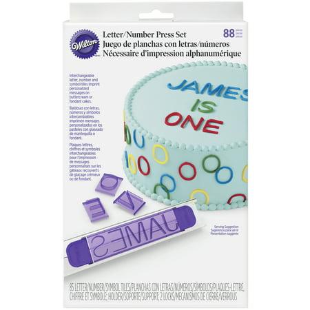 wilton letter message press set 88 piece walmart com