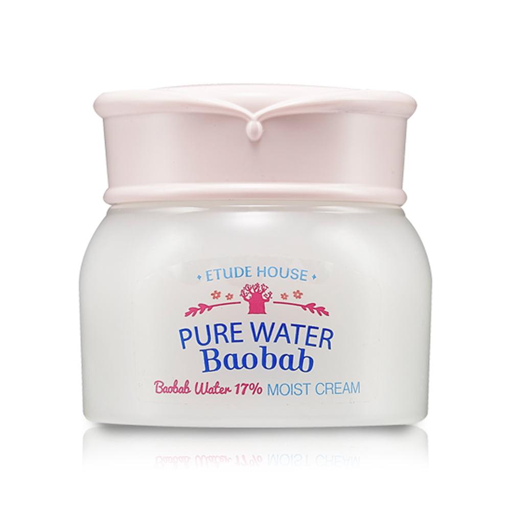 (6 Pack) ETUDE HOUSE Pure Water Baobab Cream, Baobab Wate...