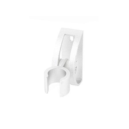 Bathroom Screw Mount Shower Head Holder Hanger Showerhead Bracket Silver Tone - image 1 de 3