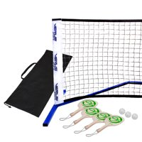 Verus Sports Professional Portable Pickleball Net Set with Paddels and Balls