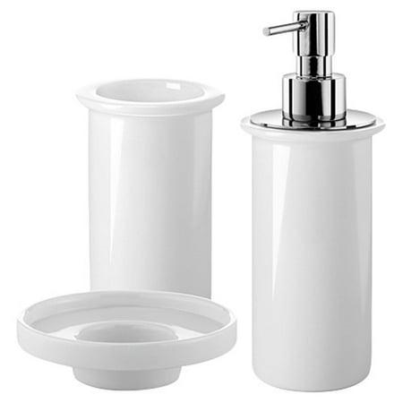 WS Bath Collections Saon 3 Piece Bathroom Accessory Set