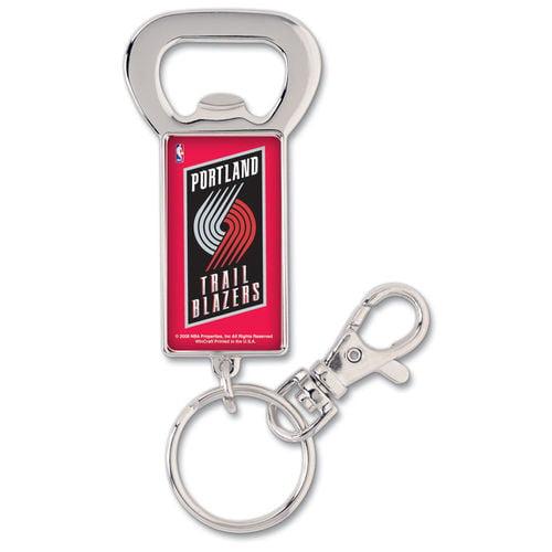 Portland Trail Blazers WinCraft Bottle Opener Key Ring Keychain