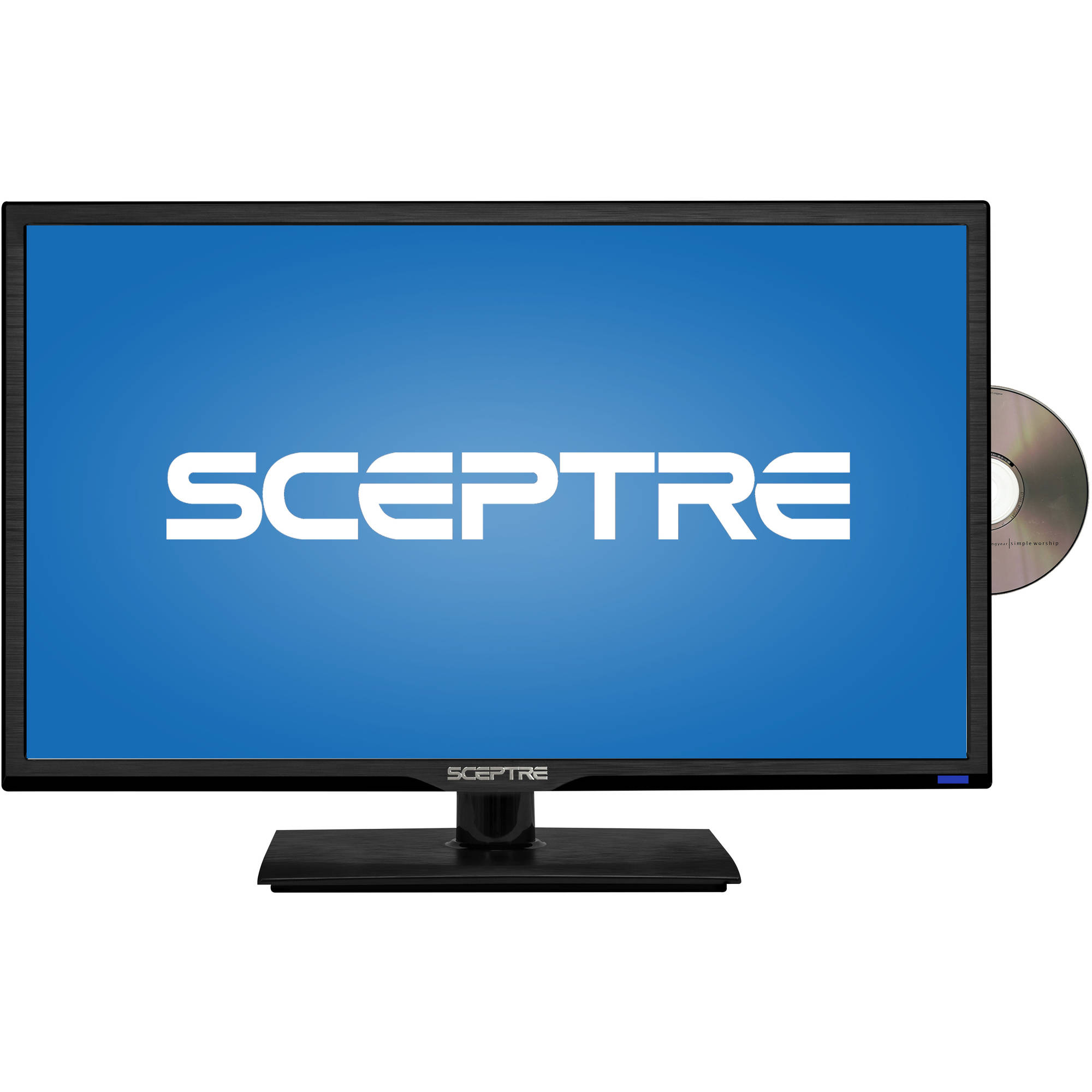 "Sceptre E246BD-F 24"" 1080p 60Hz Class LED HDTV with DVD Player"