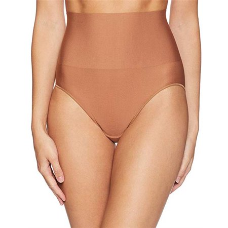 Caramel Apparel - Womens Tame Your Tummy Brief, Caramel - Large
