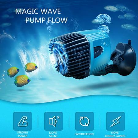 12/20w Aquarium Wave Maker Powerhead Water Pump Reef Circulation Suction (Aquarium Water Circulation Pump)