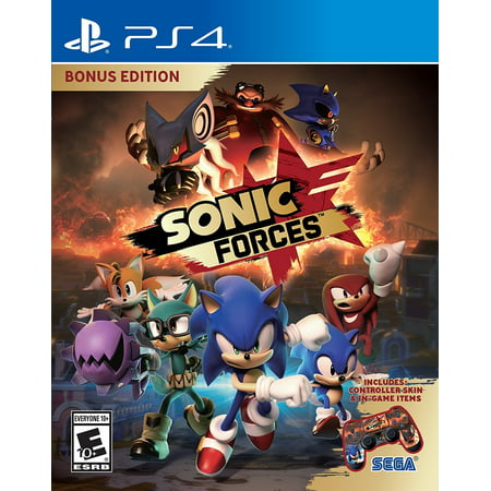 SEGA Sonic Forces Bonus Edition - PlayStation 4