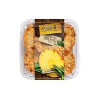 (Price/CS)Nutty & Fruity Dried Pineapple Rings, 100% Natural 7/4.5oz, 559635
