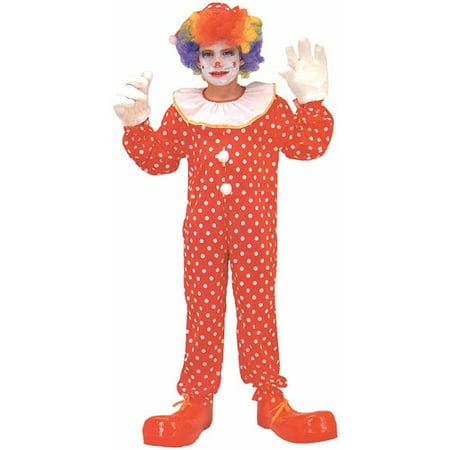 Clown Deluxe Child Halloween Costume](Halloween Clown Makeup Step By Step)