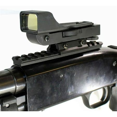MOSSBERG 500 Reflex Sight With Rail, MOSSBERG 590 Red Dot Sight Kit Black. (Mossberg 500 Field Barrel)