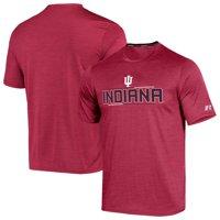 Men's Russell Athletic Heathered Crimson Indiana Hoosiers Impact Digi T-Shirt
