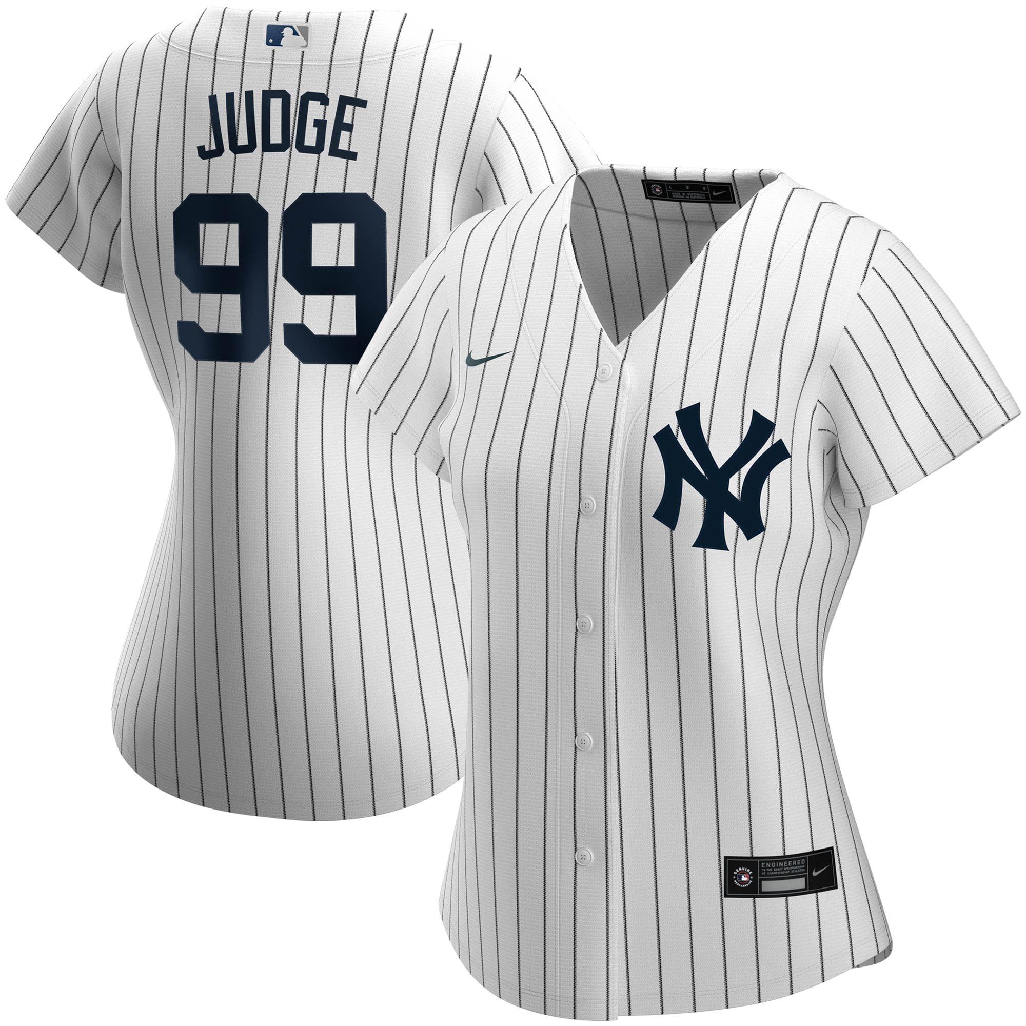 Aaron Judge New York Yankees Nike Women's Home Replica Player Jersey - White - Walmart.com